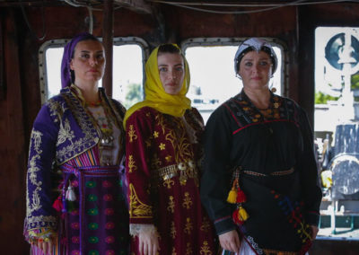 On the breadline, photos from the set, Istanbul. Courtesy of the artist